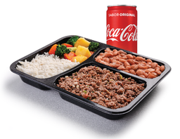 Carne Moída *Acompanha refrigerante 220ml*