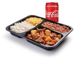 Picadinho e Refrigerante Lata - 220ml