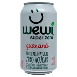Wewi Guaraná Orgânica Zero - 350ml
