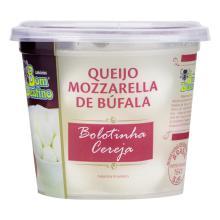 Bom Destino Queijo Mozzarella De Búfala Cereja Em Soro
