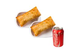 Dois Pasteis Especiais mais Refrigerante - 350ml