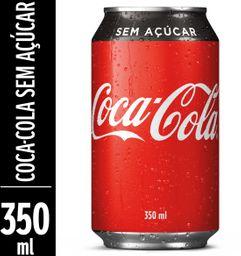 Coca-Cola Sem Açúcar Zero - 350ml