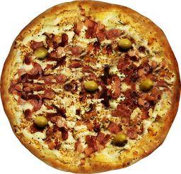 Pizza de Champignon com Bacon