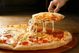 Pizza de Salame com Provolone