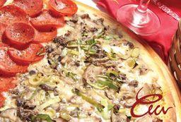 Combo Pizza Grande com Bebida e Sobremesa