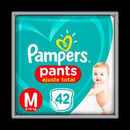 Fralda Pampers Pants Ajuste Total M 42 unidades