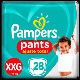 Fralda Pampers Pants Ajuste Total XXG 28 unidades