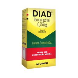 Diad 0,75 Mg 2 Comprimidos