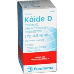 Koide D Xarope 120 mL
