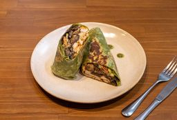 Wrap Hommus Tortilha