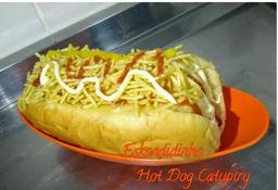 Hot Dog Frango com Catupiry