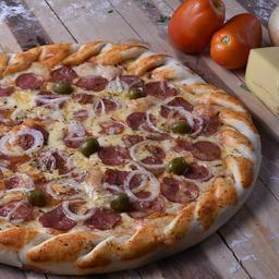 Pizza de Calabresa Baiana