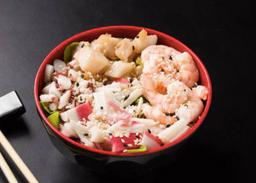 Salada Frutos do Mar.