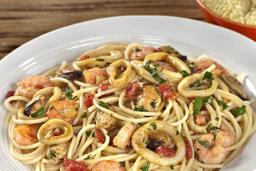 Spaghetti à Frutos do Mar