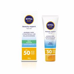Protetor Solar Facial Nivea Exp Oleosa F50 50 g