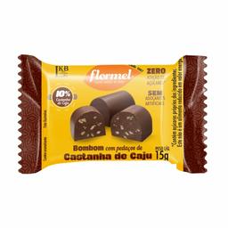Bombom Flormel Castanha De Caju Zero 15 g