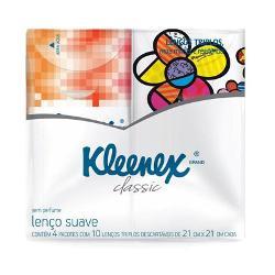 Kleenex Bolso Classic 40un-4 Pcts de 10