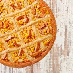 Pizza de Frango e Milho - Média