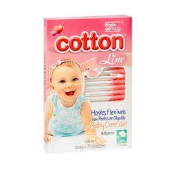 Hastes Flex Baby Care Girl Com 75 Und
