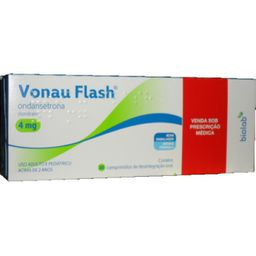 Vonau Flash 4 Mg Orodispersiveis