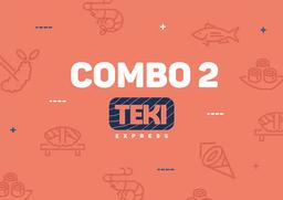 Combo 2 - 10 Peças e 1 Temaki