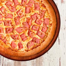 Pizza de Presunto - Média