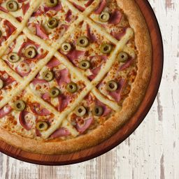 Pizza Brasileira - Média