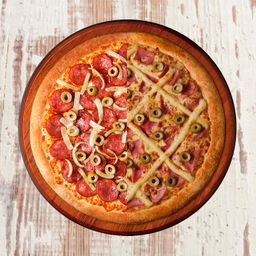 Pizza Meio a Meio - Média