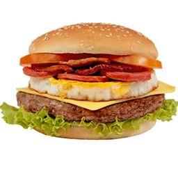Hambúrguer X Calabresa