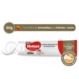 Creme Preventivo de Assadurass HUGGIES Supreme Care - 80g