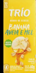Trio Barra Cereal Light Banana Aveia e Mel