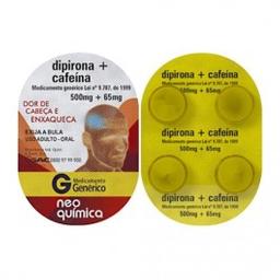 LEVE 3 PAGUE 2 Neo Quimica Dipirona Generica + Cafeina 500Mg + 6