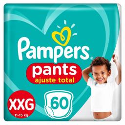 Fralda Descartável Pampers Confort Sec Pants Xxg Com 60 Und