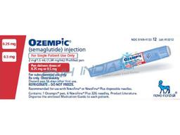 Ozempic 0,25 mg 1 Sistema 6 und