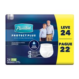 Roupa Íntima Plenitud Protect Plus Unissex Tam P/M P 22 L 24