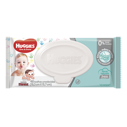 Toalha Umedecida Huggies One & Done 48 Und