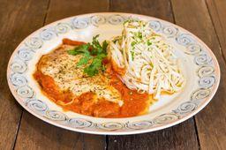 Filet Parmigiana