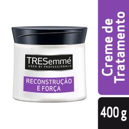 Creme De Tratamento Tresemmé Reconstrução E Força Pote 400 g