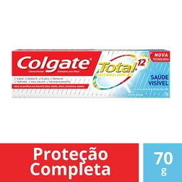 Creme Dental Colgate Total 12 Saúde Visible 70 g