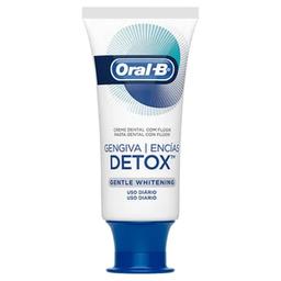Creme Dental Oral-B Gengiva Detox Gentle Whitening 102 g