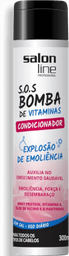 Condicionador Salon Line Sos Bomba Vitaminada 300 mL