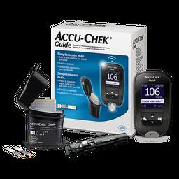 Kit Monitor De Glicemia Accuchek Guide