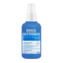 Água Oxigenada Líquida Farmax 10 Volumes Spray Com 100 mL