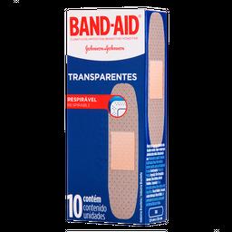 Curativo Band-Aid Transparente 10 Und