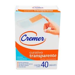 Curativo Cremer Transparente 40 Und