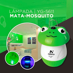 Armadilha Mosquito Bivolt Sapo Nsbao - Cód.1028620