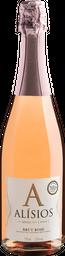 Vinho Alisios By Miolo rose Brut 750 mL