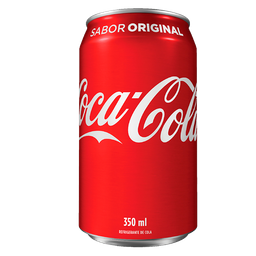 Coca-Cola Original - Lata - 350ml