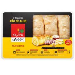 Pão De Alho Santa Massa - 400 g - Cód.10988