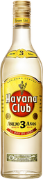 Rum Havana Club 03 Anos 750 mL - Cód.11094